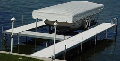 Pontoon Boat Rental, North Point Cedar Lake, IN Boat Docks